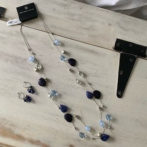 New York & Company Necklace & Earring Set